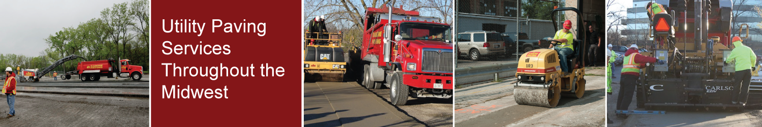 Utility Paving Services