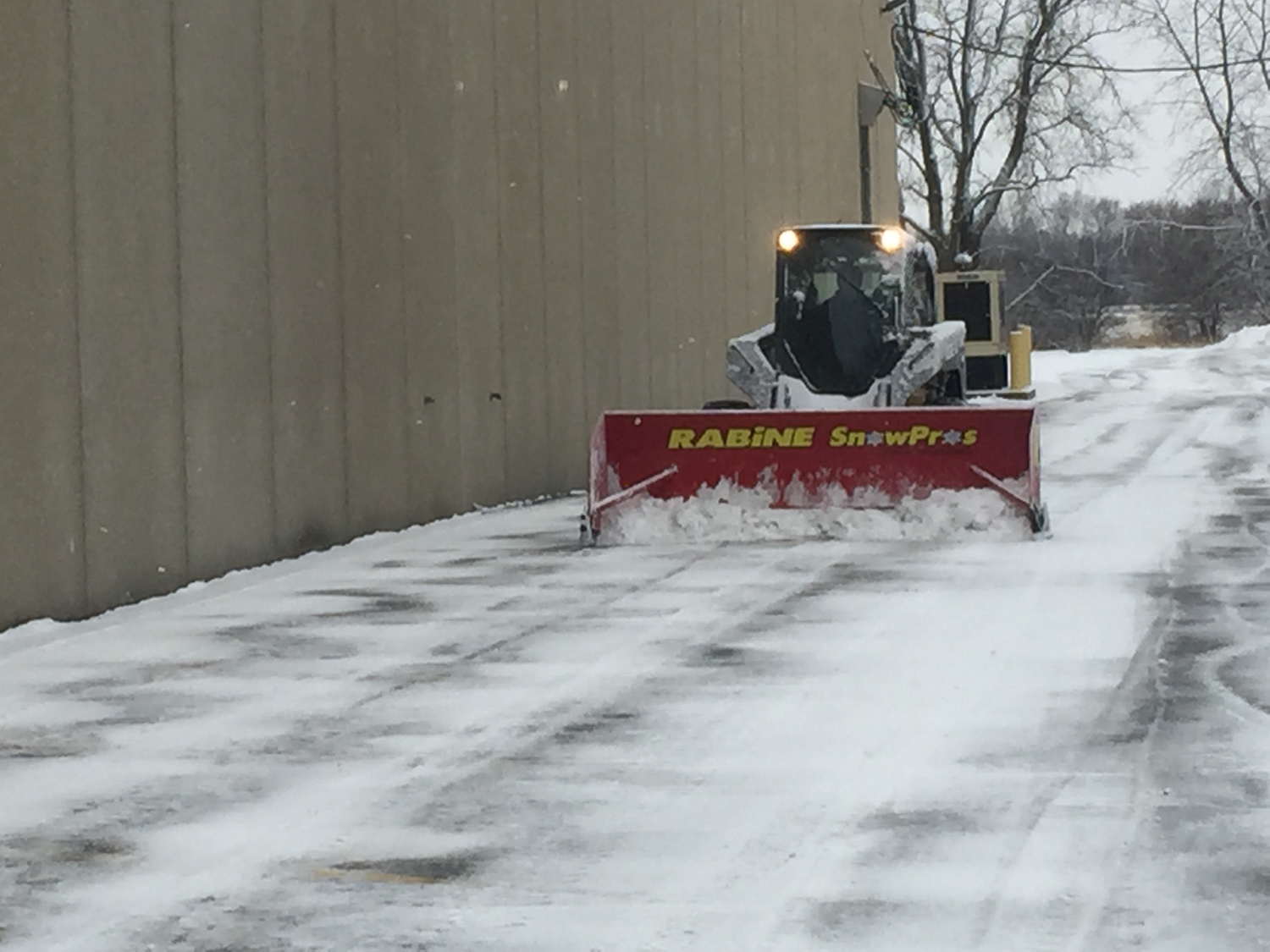Commercial Snow Removal Parking Lots Rabine Group