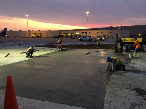 Concrete & Asphalt Parking Lots