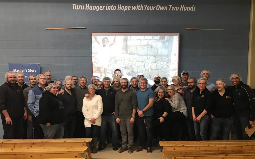 The Rabine Group Volunteers with Feed My Starving Children